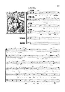 Assumpta est Maria: Sanctus by Джованни да Палестрина