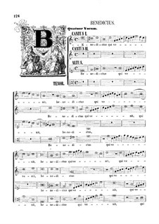 Assumpta est Maria: Benedictus by Джованни да Палестрина