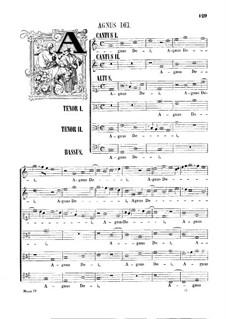 Assumpta est Maria: Agnus Dei by Джованни да Палестрина