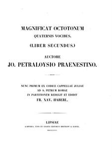 Магнификаты: Книга II by Джованни да Палестрина