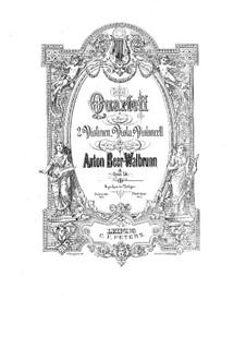 Квартет для струнных соль мажор, Op.14: Квартет для струнных соль мажор by Anton Beer-Walbrunn