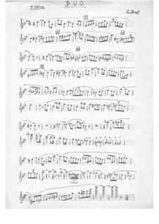 No.11 Маленький муж, маленькая жена: Для фортепианного трио – партия скрипки by Жорж Бизе