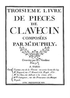 Сборник пьес для клавесина: Сборник пьес для клавесина by Жак Дюфли