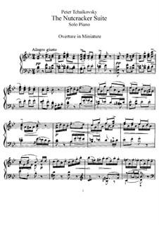 Все части: Версия для фортепиано by Петр Чайковский