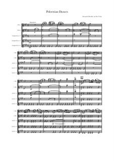 Половецкие пляски: For quartet oboes by Александр Бородин