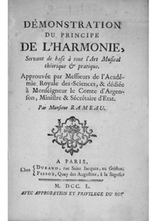 Демонстрация принципа гармонии: Предисловие by Жан-Филипп Рамо