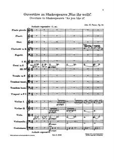 As You Like It. Overture, Op.28: As You Like It. Overture by Джон Ноулз Пейн