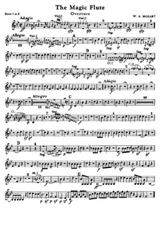 Увертюра: Партии валторн by Вольфганг Амадей Моцарт