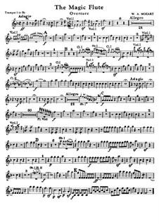 Увертюра: Партии труб by Вольфганг Амадей Моцарт