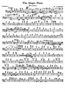 Увертюра: Партии тромбонов by Вольфганг Амадей Моцарт
