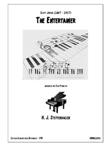 The Entertainer, for Piano: For a single performer by Скотт Джоплин