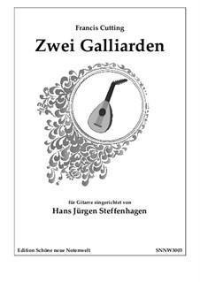 2 Galliards - Guitar Solo: 2 Galliards - Guitar Solo by Francis Cutting