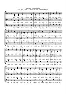 Winterreise, Nr.73-100, Op.23: Nr.92 Begoocheling by Werner Schneider-Wiegand