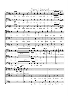 Winterreise, Nr.73-100, Op.23: Nr.96 Het grijze hoofd by Werner Schneider-Wiegand