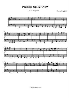Preludios, Op.127: Preludio No.9 in Re Maggiore by Marzia Gaggioli