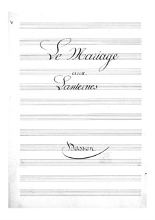 Свадьба при фонарях: Партия фагота by Жак Оффенбах