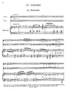 Клавесинный концерт No.4 си-бемоль мажор, RCT 10: Партитура by Жан-Филипп Рамо
