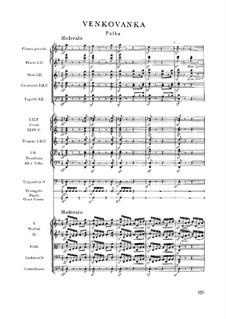 Venkovanka (The Country Woman), T.123: Для фортепиано by Бедржих Сметана