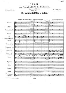 Wo sich die Pulse. Chor zum Festspiel 'Die Weihe Des Hauses', WoO 98: Wo sich die Pulse. Chor zum Festspiel 'Die Weihe Des Hauses' by Людвиг ван Бетховен