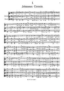 Глория: Gloria by Johannes Ciconia