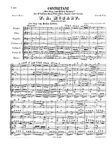 Контрданс для оркестра до мажор 'Der Sieg vom Helden Coburg', K.587: Контрданс для оркестра до мажор 'Der Sieg vom Helden Coburg' by Вольфганг Амадей Моцарт