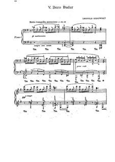 Яванская сюита: No.5 Boro Budur by Леопольд Годовский