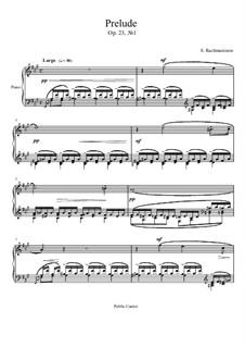 Прелюдия No.1 фа-диез минор: Для фортепиано by Сергей Рахманинов