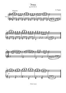 Маленький пианист, Op.823: Этюд No.32 by Карл Черни
