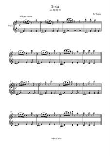 Маленький пианист, Op.823: Этюд No.30 by Карл Черни