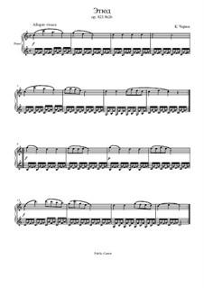 Маленький пианист, Op.823: Этюд No.26 by Карл Черни