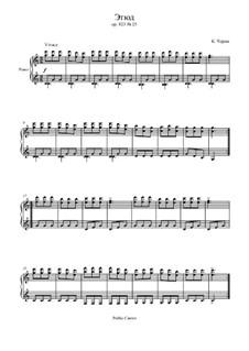 Маленький пианист, Op.823: Этюд No.25 by Карл Черни