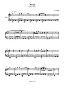Маленький пианист, Op.823: Этюд No.23 by Карл Черни