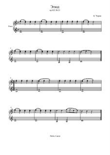Маленький пианист, Op.823: Этюд No.21 by Карл Черни