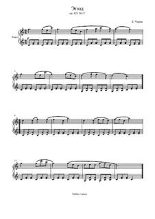 Маленький пианист, Op.823: Этюд No.17 by Карл Черни