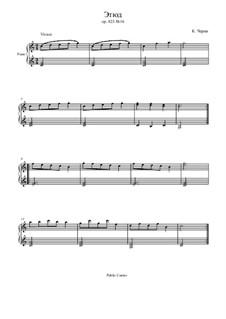 Маленький пианист, Op.823: Этюд No.16 by Карл Черни