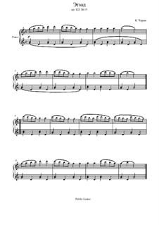 Маленький пианист, Op.823: Этюд No.15 by Карл Черни