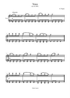 Маленький пианист, Op.823: Этюд No.36 by Карл Черни