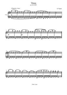 Маленький пианист, Op.823: Этюд No.35 by Карл Черни