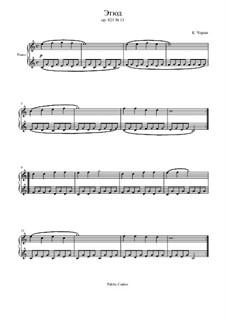 Маленький пианист, Op.823: Этюд No.13 by Карл Черни