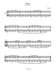 Маленький пианист, Op.823: Этюд No.12 by Карл Черни