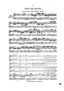 Дебора, HWV 51: Акт II by Георг Фридрих Гендель