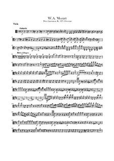 Увертюра: Партия альта by Вольфганг Амадей Моцарт
