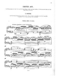 Die letzten Tage von Thule: Akt I, für Solisten, Chor und Klavier by Георг Вильгельм Раухенекер