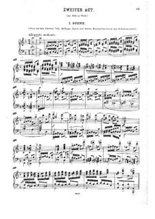 Die letzten Tage von Thule: Akt II, für Solisten, Chor und Klavier by Георг Вильгельм Раухенекер