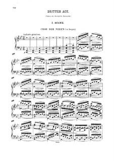 Die letzten Tage von Thule: Akt III, für Solisten, Chor und Klavier by Георг Вильгельм Раухенекер