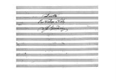 Дуэт для скрипки и виолончели: Партитура для двух исполнителей by Феличе Джардини