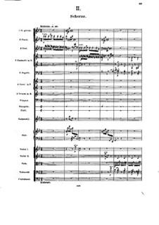 Симфония No.5 си-бемоль мажор, Op.55: Часть II by Александр Глазунов