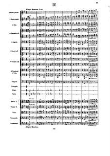 Симфония No.5 си-бемоль мажор, Op.55: Часть IV by Александр Глазунов