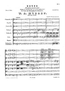 Per pietà, non ricercate, K.420: Per pietà, non ricercate by Вольфганг Амадей Моцарт