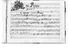 L'Erismena: Акт I by Пьетро Франческо Кавалли